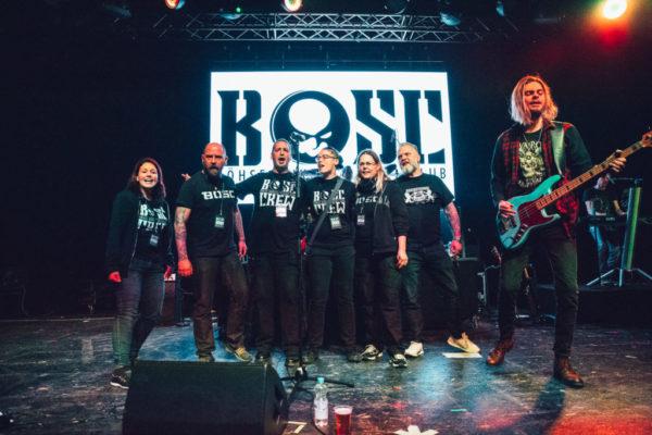 Mainhall, Heilige Legenden und die Crew des B.O.S.C.