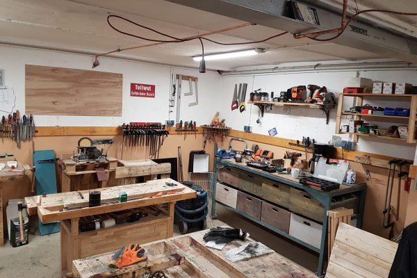 Die Werkstatt.