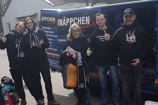 Obdachlosenhilfe Sepp+Co Aktion Kleiderspende Thumbnail