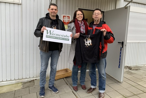 Wärmestube Halberstadt: Kleiderspende