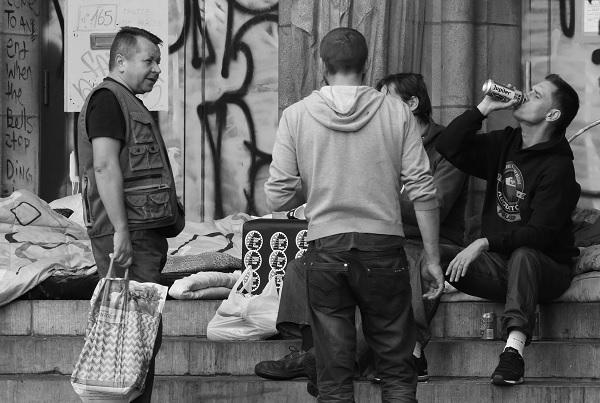 Unterstützung Obdachlosenhilfe Sepp+Co