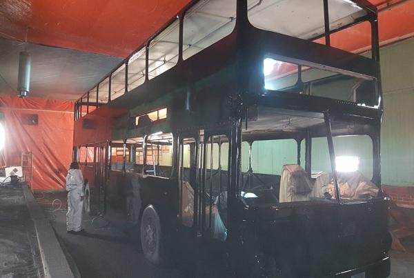 B.O.S.C. Bus Revival: Der Bus ist lackiert