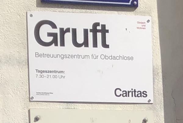 Unterstützung Gruft Wien