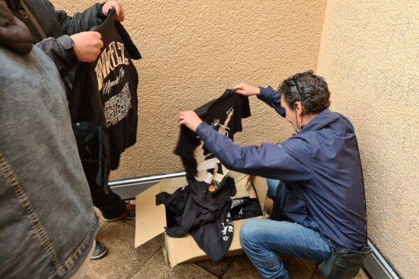 Kleidung für Bedürftige Aktion VFG Bonn 02