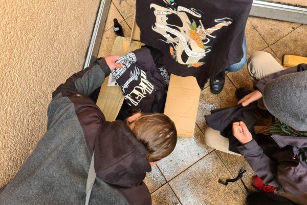 Kleidung für Bedürftige Aktion VFG Bonn 03