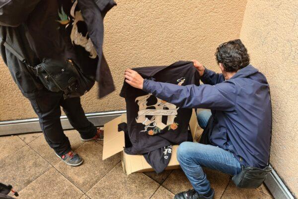 Kleidung für Bedürftige Aktion VFG Bonn 04