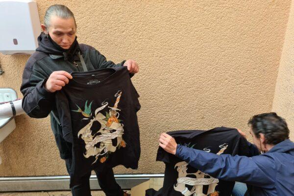 Kleidung für Bedürftige Aktion VFG Bonn 05