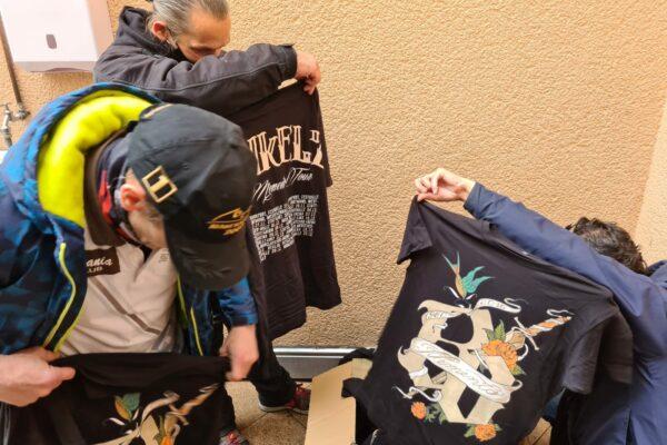 Kleidung für Bedürftige Aktion VFG Bonn 06