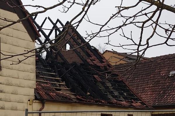 Hilfe für Familie nach Brand